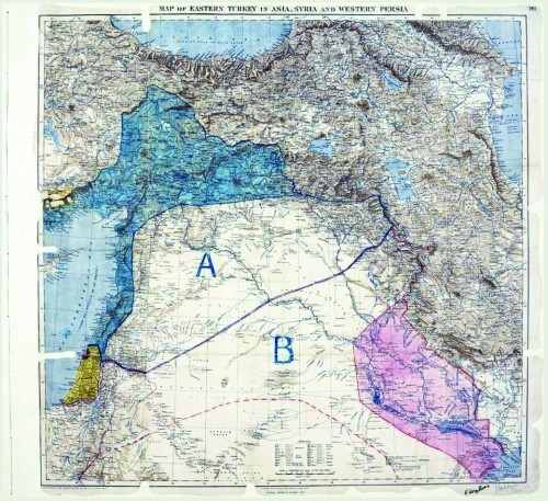 《赛克斯-皮科协定》:一纸密约决定中东命运?