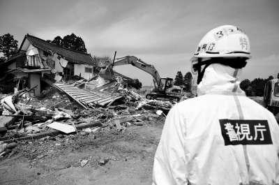 福岛第一核电站20公里范围的居民已经疏散.