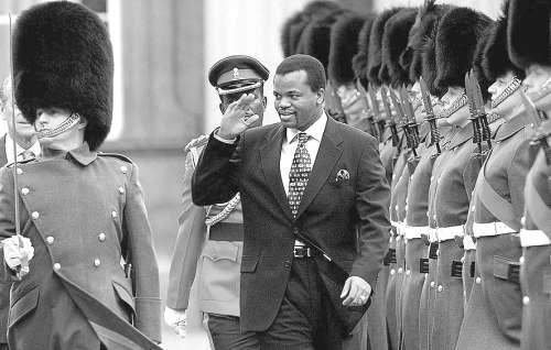 斯威士兰国王:为何能独裁至今