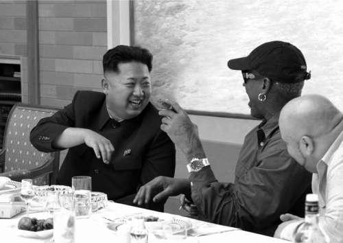 """罗德曼与朝鲜的关系_罗德曼""""公费游""""朝鲜-青年参考"""