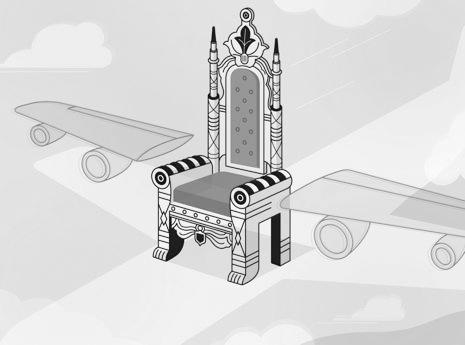 """飞机座椅的""""等级差异"""""""